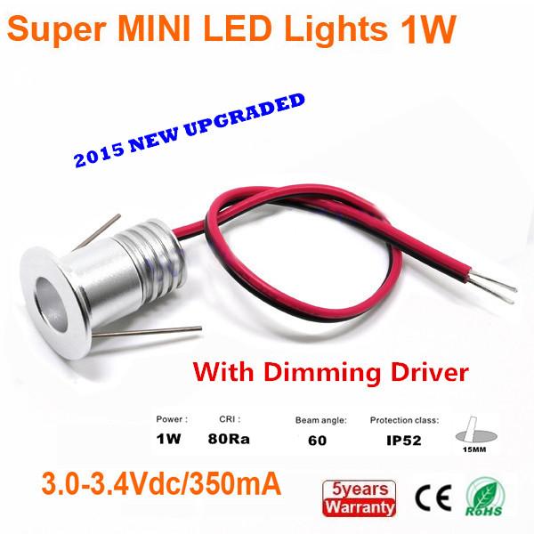 6pcs LED Cabinet Lamps,1w Led Spot Light For Cabinet,DIY