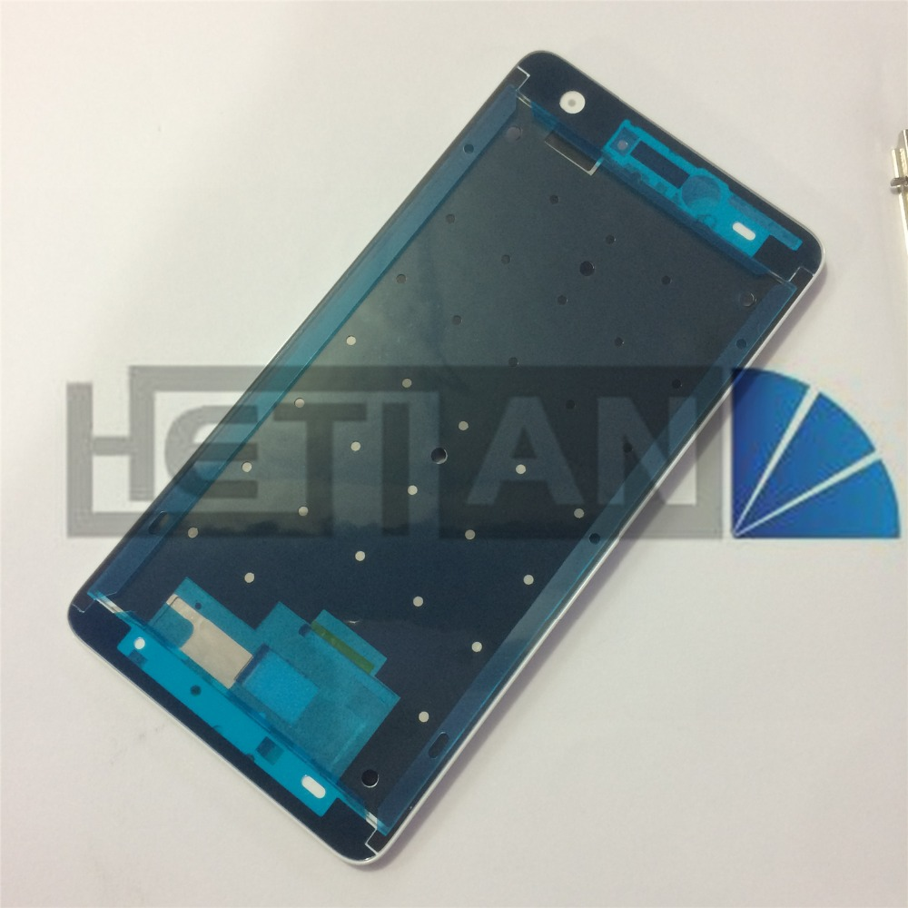 1pcs Black/Whtie for Redmi Note4X Front LCD Housing Middle Faceplate Frame Bezel Replacement Parts for Xiaomi Redmi Note 4X
