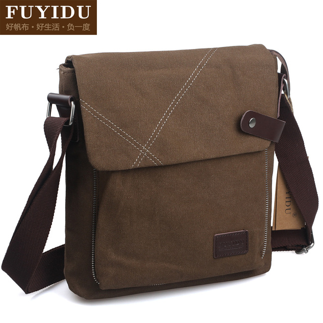 Gift fashion trend of the 2012 vintage fashion canvas man bag personalized sports messenger bag