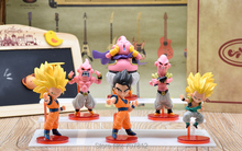 WCF Dragon Ball Z GT Action Figure PVC Super Saiyan goku Japanese Cartoon Toy QLZ028 - Funny World store