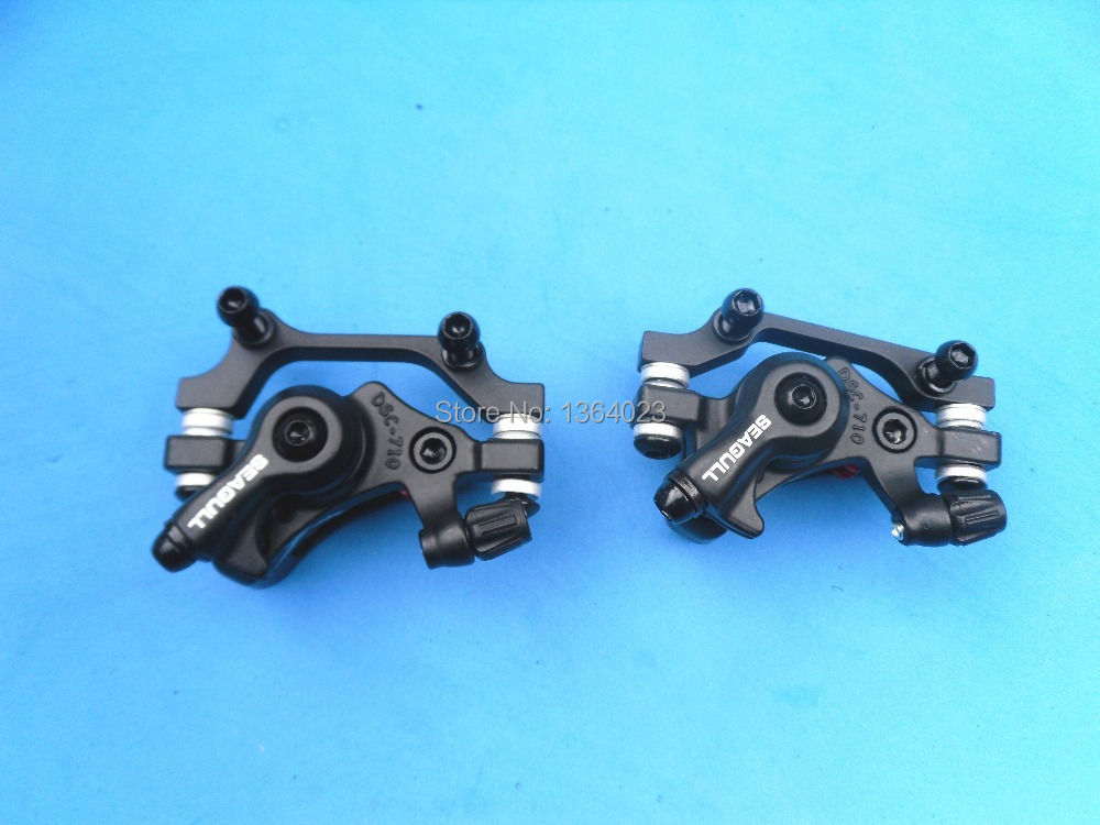 The heat on the performance of 2PC great MTB mountain bike disc brakes is better than BB5 with a lower price for free shipping(China (Mainland))