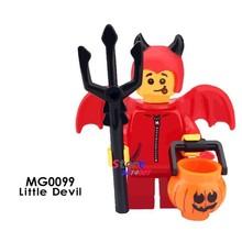 Tek Süper Kahraman Doktor Samson Banshee Demir Adam Trickster Mavi Kuş Nightcrawler Katil Don yapı blok oyuncaklar çocuklar için(China)