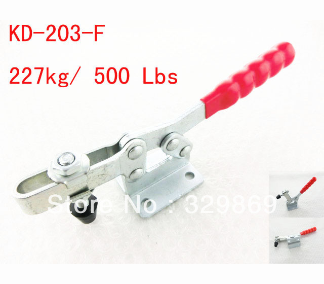 203F 227Kg 500 Lbs Holding Capacity Horizontal Toggle Clamp(China (Mainland))