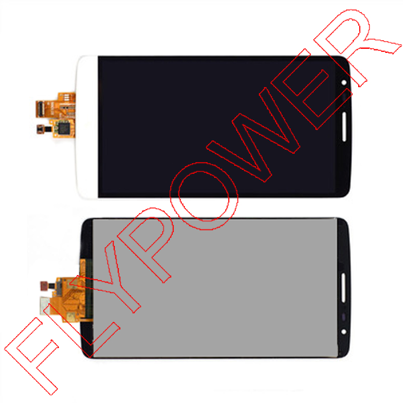 For LG G3 Stylus D690 LCD Display with Touch Screen Digitizer Assembly White Color Free Shipping