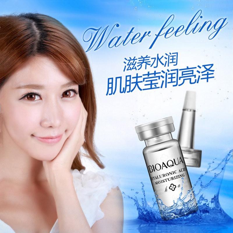 Rosto soro Anti rugas ácido hialurônico líquido creme de pele óleo de essência de colágeno clareamento hidratante Anti envelhecimento