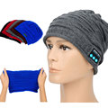Fashion Bluetooth Headphone Hat Earphone Knitted Beanie Wireless Stereo Winter Sport Music Headset for Iphone Samsung