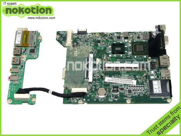 MBS0506001 MB.S0506.001 laptop motherboard for ACER ASPIRE ONE ZG5 A110 A150 DA0ZG5MB8F0 N270 cpu with sound usb board(China (Mainland))