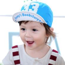 2017 new arrival adjustable size boys girls kids summer sun baseball caps 33 words paw feet cartoon children beanies hats(China (Mainland))
