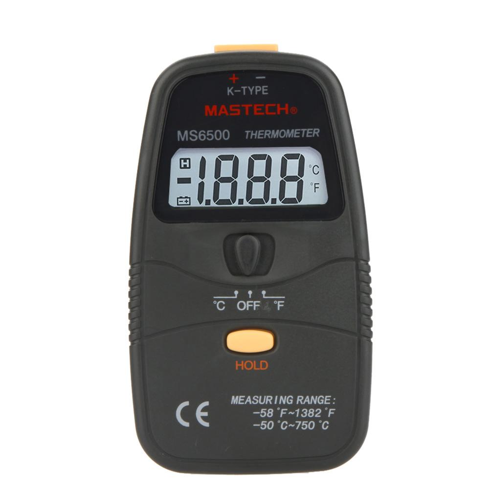 MS6500 Handheld Digital Thermometer Temperature Meter Sensor Tester(China (Mainland))