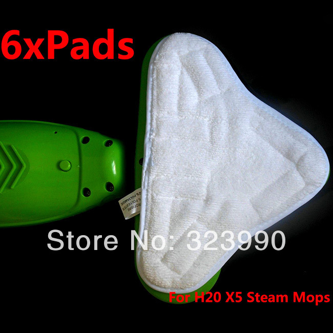Pads For H2O H20 X5 Steam Mop Cloth Cleaner Washable Microfibre Replacement(China (Mainland))