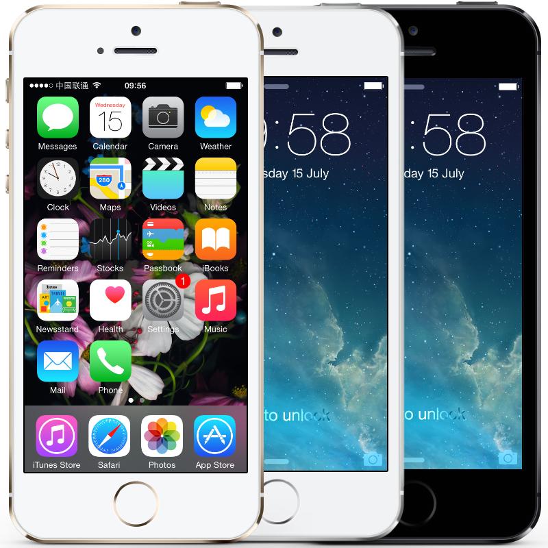 "Original Apple iPhone 5S I5S Unlocked IOS 9 Dual Core WCDMA 3G Smart Phone 16GB/32GB/64GB ROM 4.0"" 8MP 1080P WIFI GPS Cell Phone(China (Mainland))"