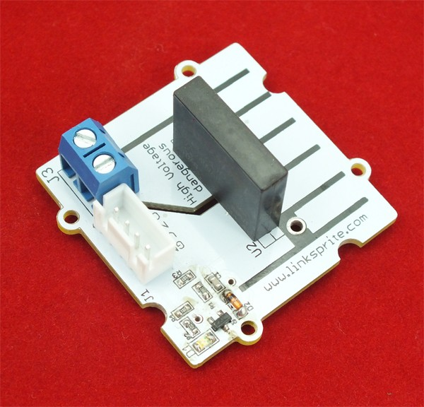 Pcduino linker kit mosfet module relay solid state