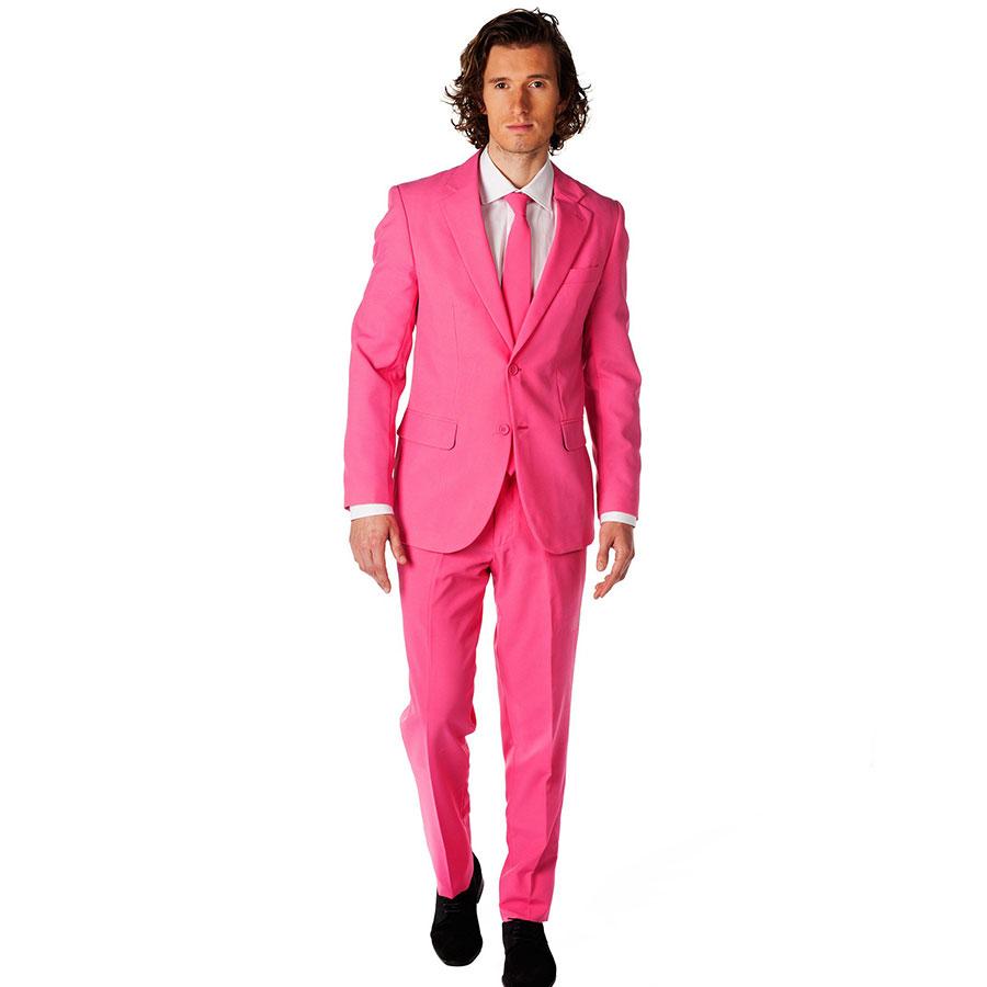 online kaufen gro handel mens rosa anzug aus china mens. Black Bedroom Furniture Sets. Home Design Ideas