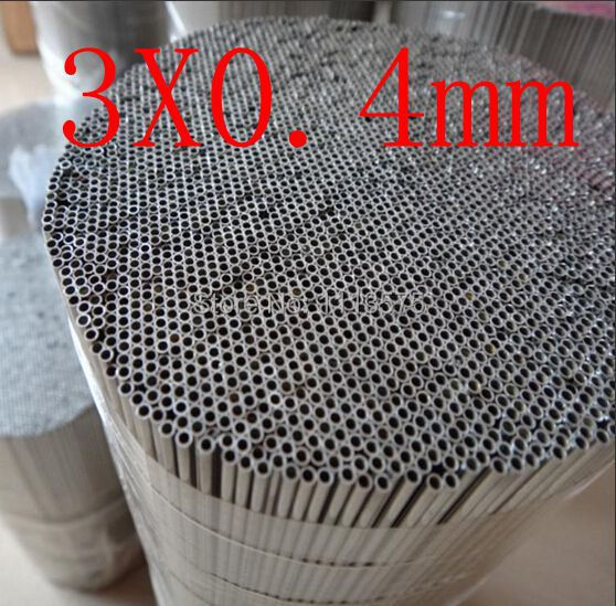 3.0X0.4mm,304 321 316 thick wall or thin wall small tube corrosion resistance to acid and alkali Capillary stainless steel pipe(China (Mainland))