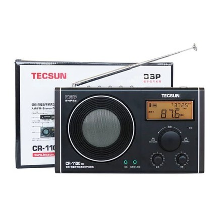 Tecsun CR 1100 DSP AM FM Stereo Radio