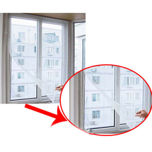 DIY Insect Fly Mosquito Window Net Mesh Screen Curtains Protector Flyscreen Worldwide 130 150cm