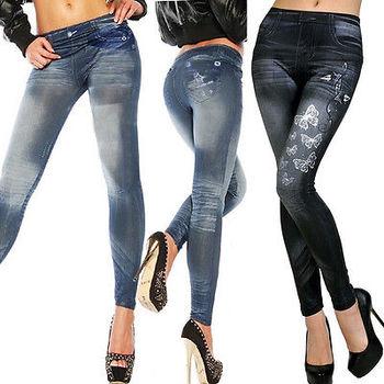 NEW Sexy Women Jean Skinny Jeggings Stretchy Slim Leggings Fashion Skinny Pants