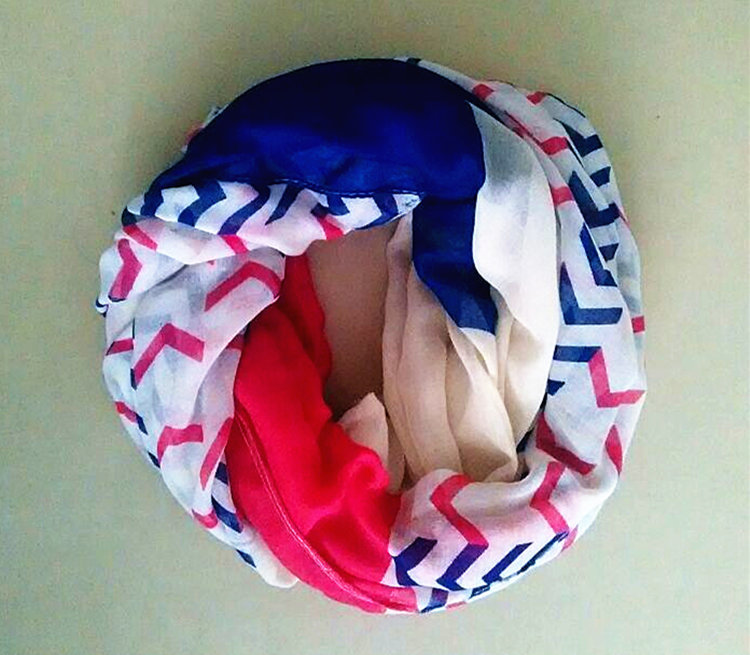 10pcs/lot 2015 New fashion High quality  Chevron Infinity Scarf  Brand  Design Ladies Wave Striped Zigzag Print Polyester ScarfОдежда и ак�е��уары<br><br><br>Aliexpress