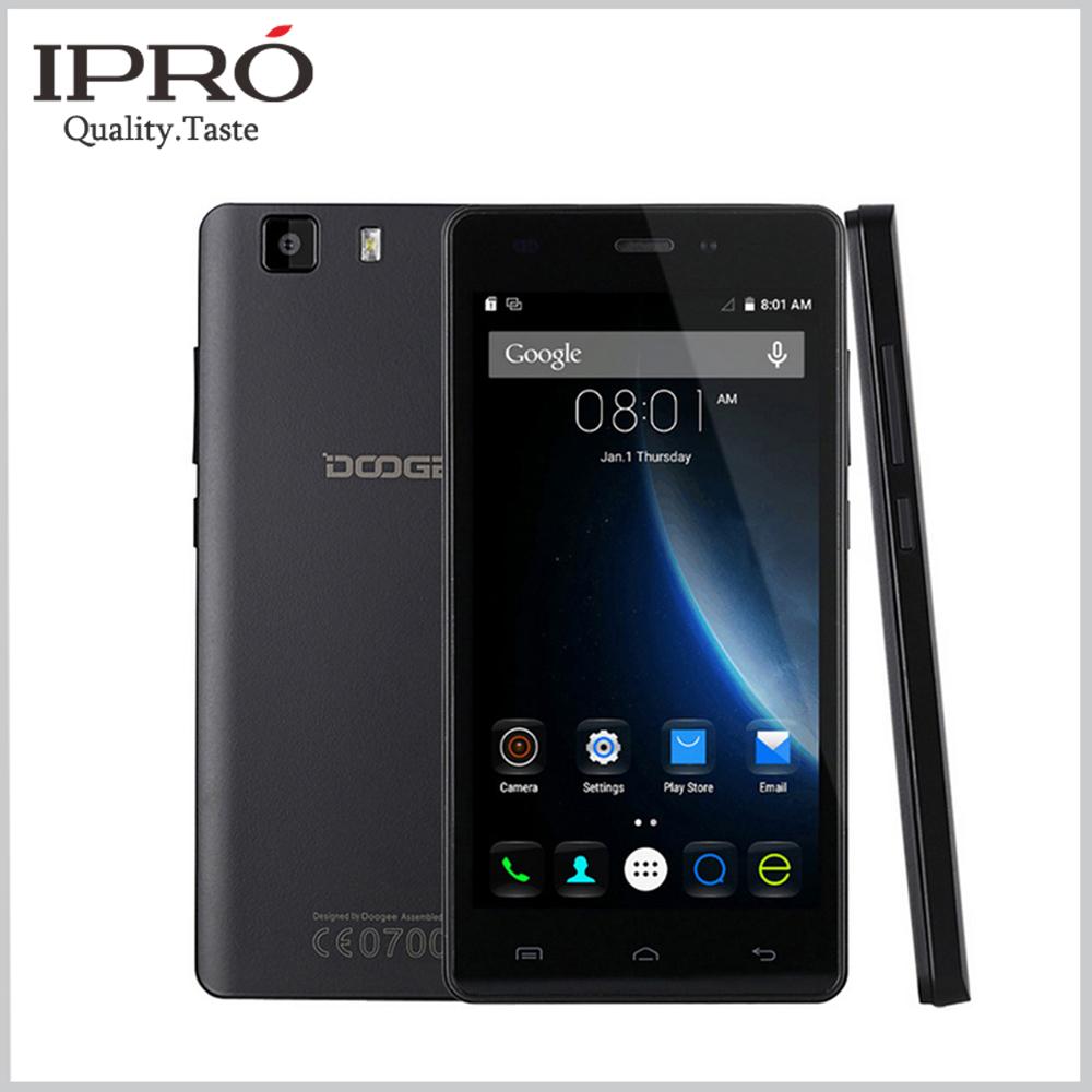 Original DOOGEE X5 Mobile Phone 5.0inch MT6580 Quad Core Celular Android 5.1 Smartphone 1G RAM 8G ROM Dual SIM Cell Phones(China (Mainland))