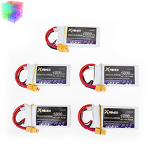 5pcs 7.4V 1500mAh 2s lipo battery 30C max 35C Xpower batteries XT60 / T plug for RC Helicopter Quadcopter drone part