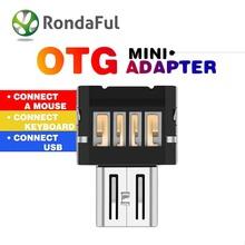 Micro USB для Anroid телефон планшет шт OTG адаптер конвертер USB адаптер для Samsung HTC Oneplus Xiaomi для Lenovo Sony OTG адаптер