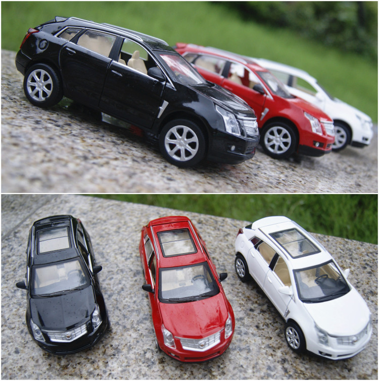 1:32 Metal Die Cast Car Styling For SRX SUV Scale Car Model Alloy Vehicle Car Toys Best Gift(China (Mainland))