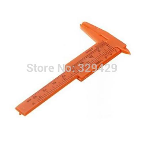 A13 Mini Plastic Vernier Caliper Gauge Micrometer to 1MM mini ruler T1270 P