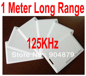 Lowest Price 125KHz Long Range/Long Distance 80-133 cm Contactless card/ID card/RFID Tag/LF/ Thick/Maximum long distance to 1M