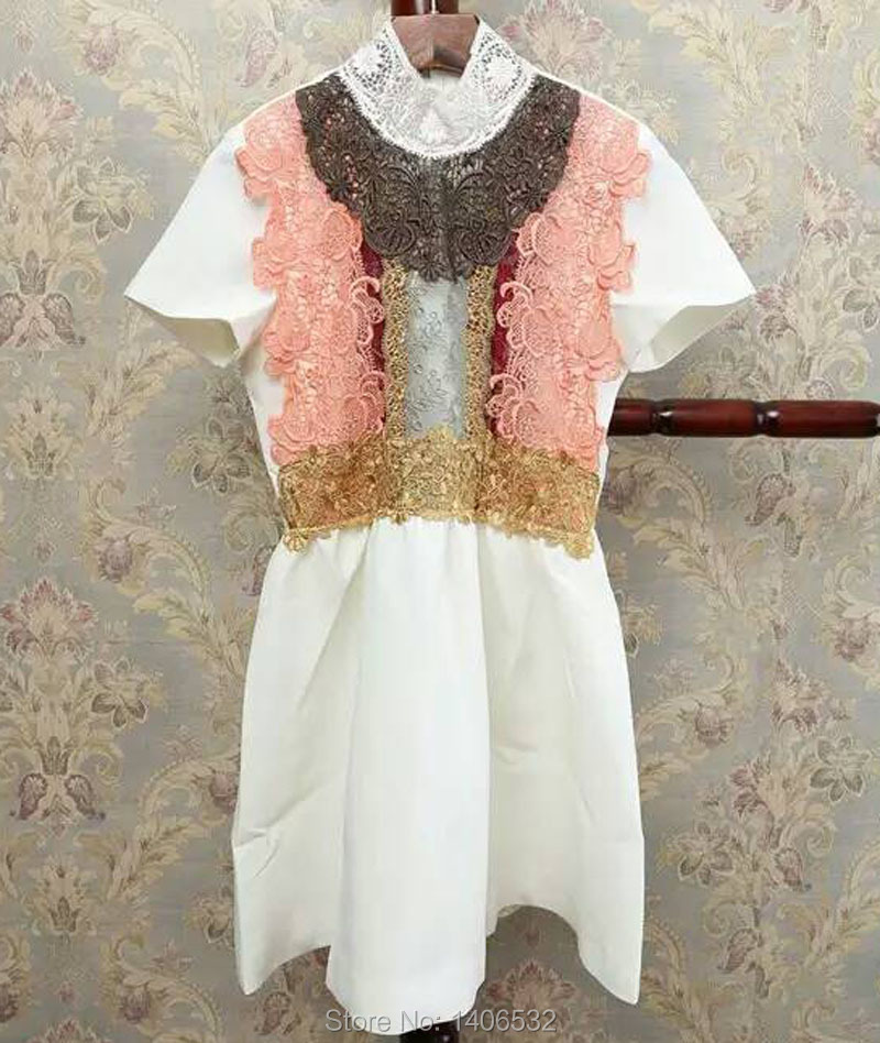 Luxury Runway Dresses 2016 Luxury Brand Lace Dress Womens Одежда и ак�е��уары<br><br><br>Aliexpress