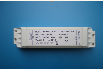 2017 New year hot sales!!! Electronic Driver Transformer for MR 16 MR 11 G4 DC12V 2.5A 2500MA 30W +1pcs led strip light free(China (Mainland))