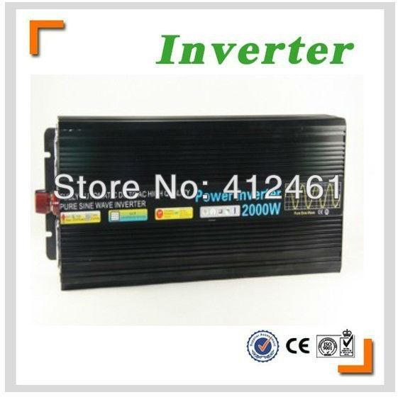 Hot Selling inverter 12v 220v 2000w pure sine wave solar inverter<br><br>Aliexpress