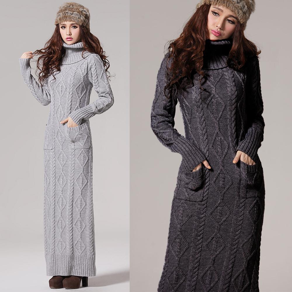 Купить Зимние Длинные Платья