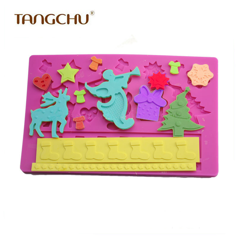 Cartoon Fondant and Gum Paste Silicone Cake Mold Cut Soap Cake Stand Lace Mold Cake Mould Macaroons Mat Cake Decorating Tools(China (Mainland))