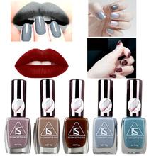 2016 Brand Matte Nail Gel Polish Fashion Grey Color 12 Colors 16 ml Manicure Beauty Tools Vernis A Ongle Varnish Nailpolish(China (Mainland))