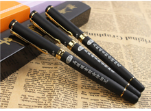 Buy 5 pcs/lot Black Metal Brand 186 Finance Fountain Pen ink Office Supplies Students writing Gift Free 902 for $4.62 in AliExpress store