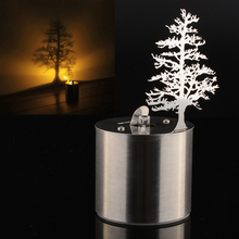 Pine Tree Romantic Dreamlike LED Shadow Projector Candle Home Bedroom Night Light Lamp Amazing Chidren Gift(China (Mainland))