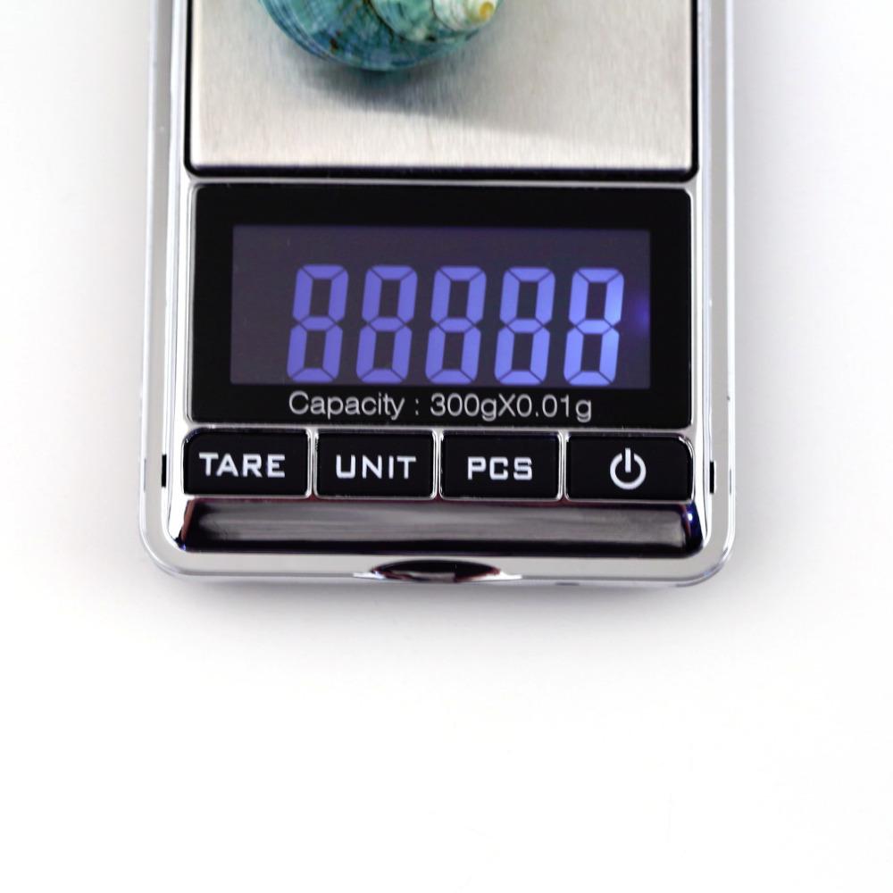 NEW 1pcs mini 0 01 x 300g Electronic Balance Gram Digital Pocket scale balanza digital scales