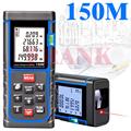 Industry standard Laser Rangefinder 150 M Meter Distance Meter Digital Range Finder Tape Area volume Angle