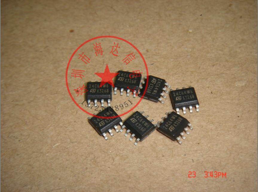 ST24C64W6M 24C64W6 64 32 one thousand Serial IC Bus EEPROM(China (Mainland))