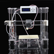 new arrival size220 220 235mm High Quality Precision Reprap Prusa i3 DIY 3d Printer kit with16GB