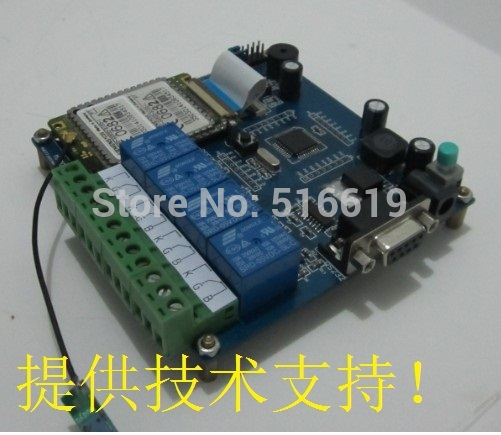 Free shipping TC35, TC35I, MC35 GSM relay remote controller module development board to learn(China (Mainland))
