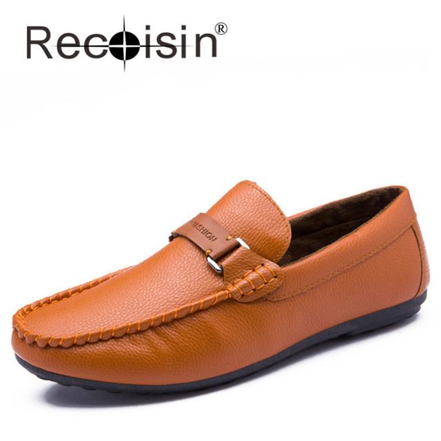 RECOISIN Мужчины Мокасины Дешевой Цене Высокая Стоимость Производительность Обувь ...