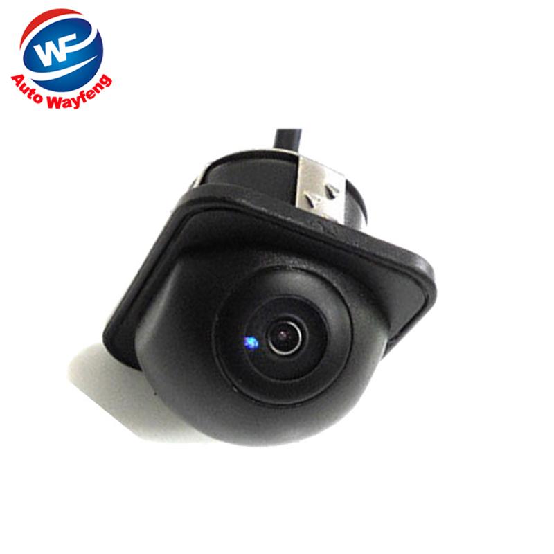 For 170 Wide Angle Night Vision Car Rearview Rear View Camera Front Camera Viewside Camera Reverse Backup Color Camera(China (Mainland))