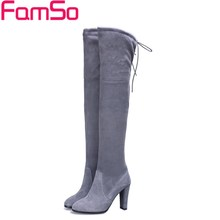 Free shipping 2016 New Europe Top Selling Women Boots Black Thigh High Boots Sexy Female Genuine Leather Snow Boots SBT3642(China (Mainland))