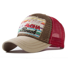 2016 New Summer Baseball Caps for Men Snapback Caps Women Mesh Breathable Casual Outdoor Sport Adjustable Letters Hats(China (Mainland))