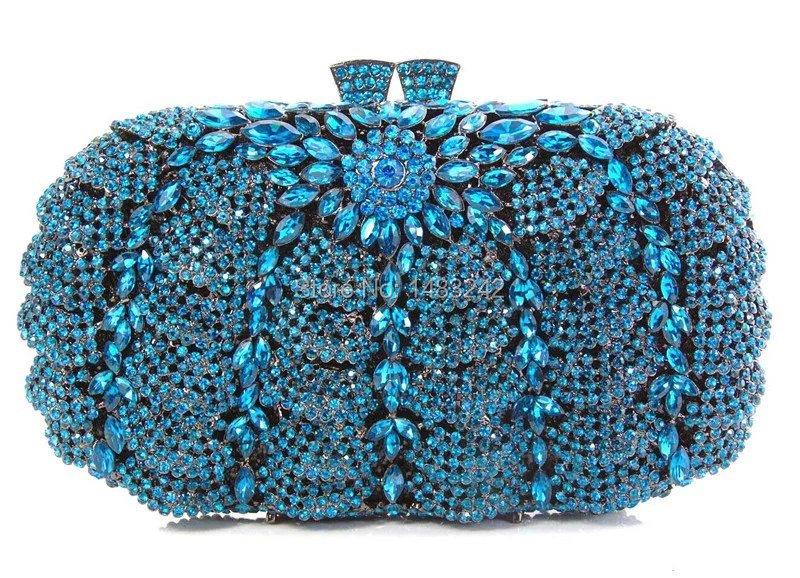 Фотография GQ2 2016 new design hot sale elegant and luxury Rhinestones African Handbag for wedding/party