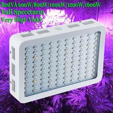 BestVA 600 W 800 W 1000 W 1200 W 1600 W Espectro Completo de Alto Rendimiento LED Crece Ligero Para de Interior plantas, almacén en EE. UU., DE, AU, REINO UNIDO(China (Mainland))