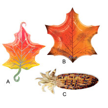 1pcs/lot Anagram Fall Maple Leaf Harvest Corn Foil Balloons Thanksgiving Day Party Decoration Toy Balloon Gifts Made in America.(China (Mainland))
