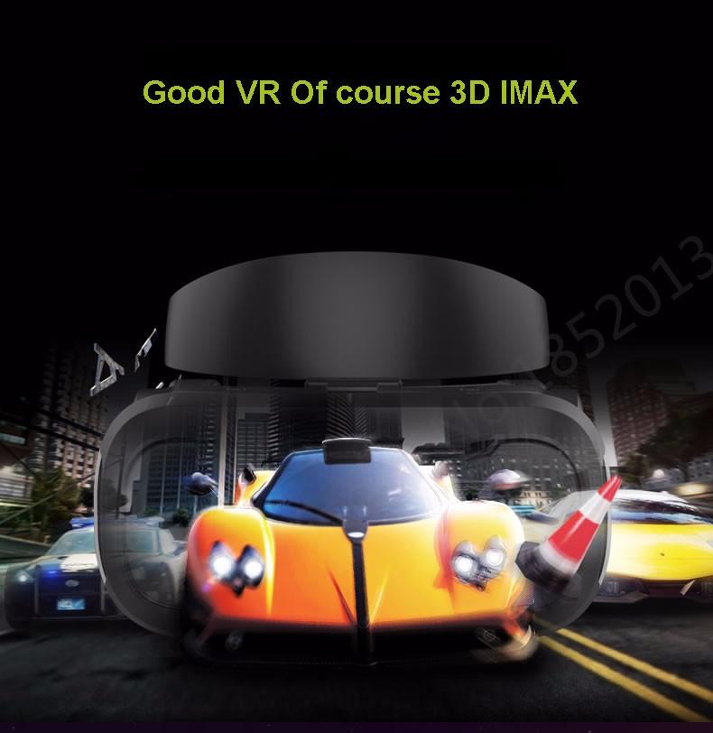"""ถูก VR Shinecon 4.0 VRแว่นตาความจริงเสมือนHDนาโน-สีฟ้าเลนส์ที่มีการดูดซับระบายความร้อนแผงสำหรับ4.5-5.5 """"มาร์ทโฟน+เกมJostick"""
