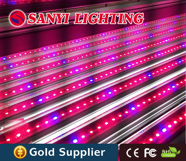 25pcs/lot 1200mm 18w t8 led grow light tube, indoor led plant growing light<br><br>Aliexpress